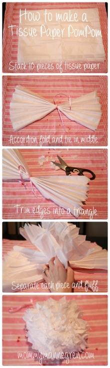 Tissue Paper PomPom