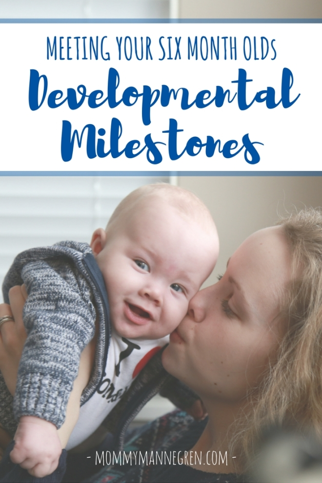 Meeting Your Six Month Old's Developmental Milestones