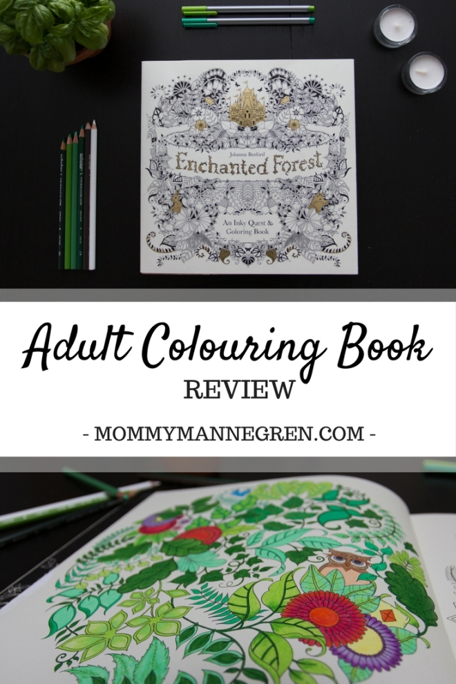 Adult Colouring Book Review