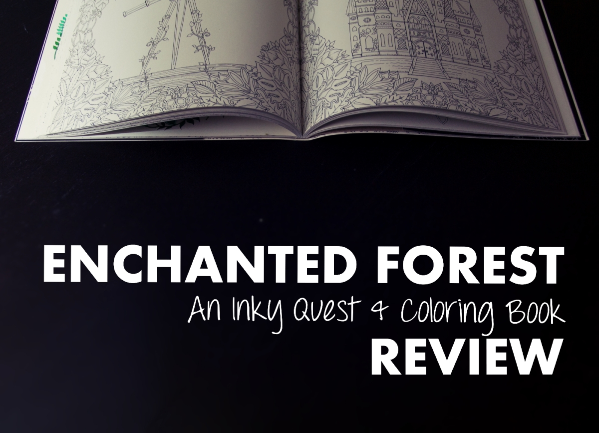 Enchanted Forest Colouring Book Review