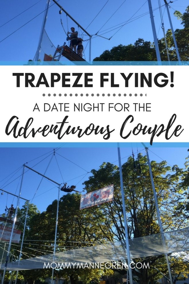 A Date Night Idea for the Adventurous Couple: Trapeze Flying