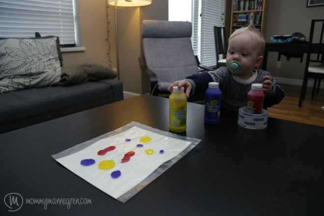 PaintingwithBaby