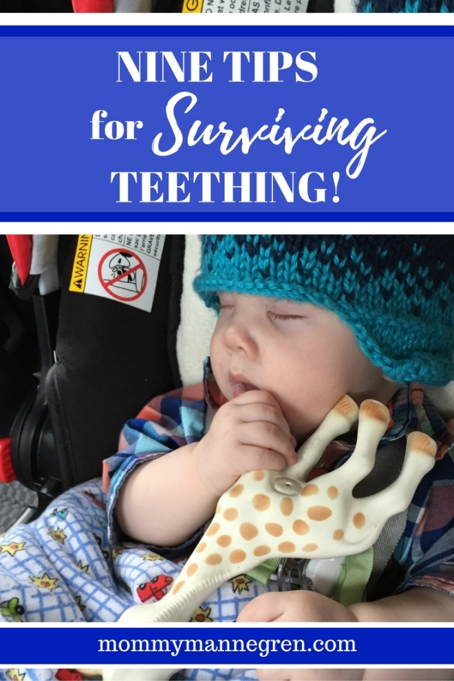Nine tips for surviving teething