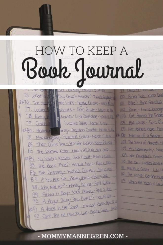 Keeping a Book Journal