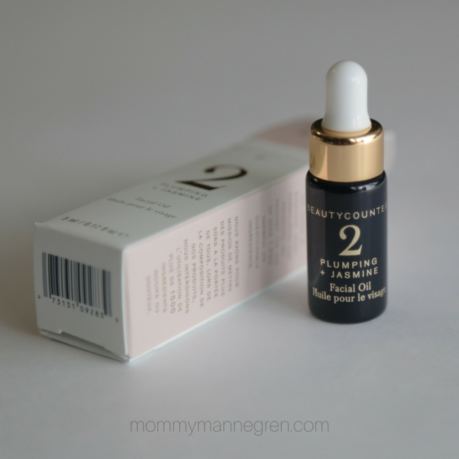 Plumping + Jasmine Facial Oil Beautycounter Review