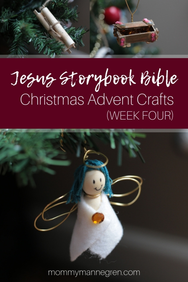 Jesus Storybook Bible: Christmas Advent Crafts Week Four