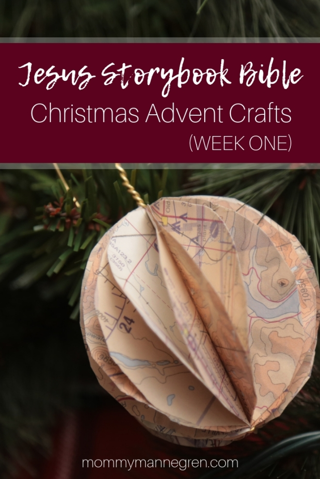 Jesus Storybook Bible: Advent Crafts Week One