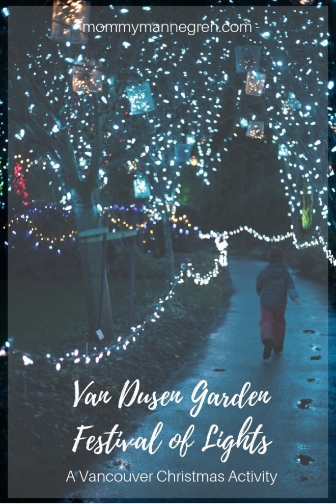 Van Dusen Garden Festival of Lights