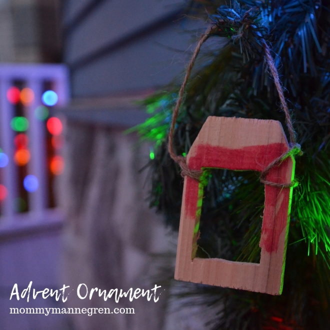 Advent Ornament: Passover