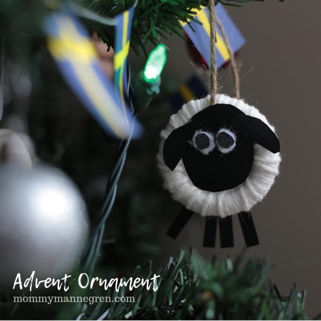 Advent Ornament: Sheep