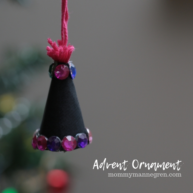 Advent Ornament: Party Hat