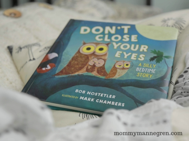 Book Review -- Don't Close Your Eyes by Bob Hostetler