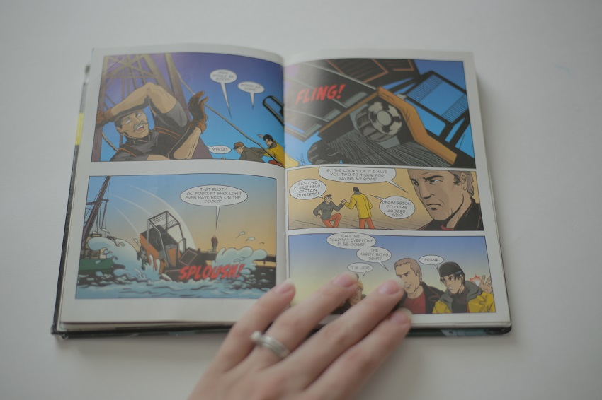 Hardy Boys Graphic Novel