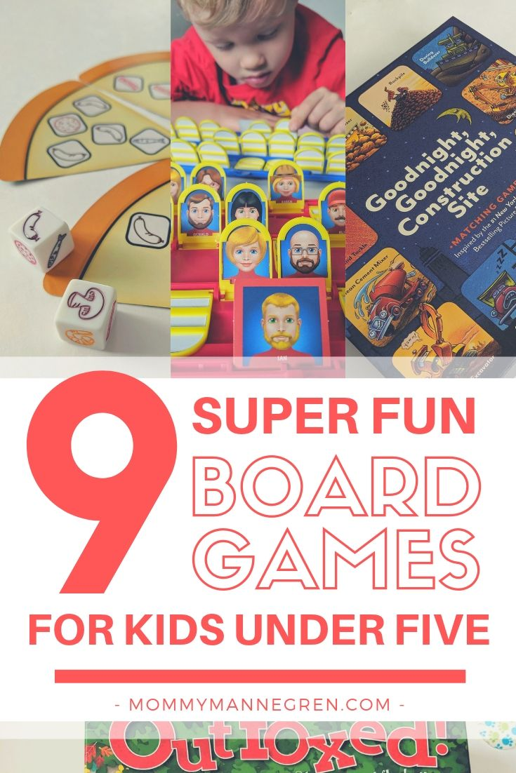 9 Super Fun Board Games