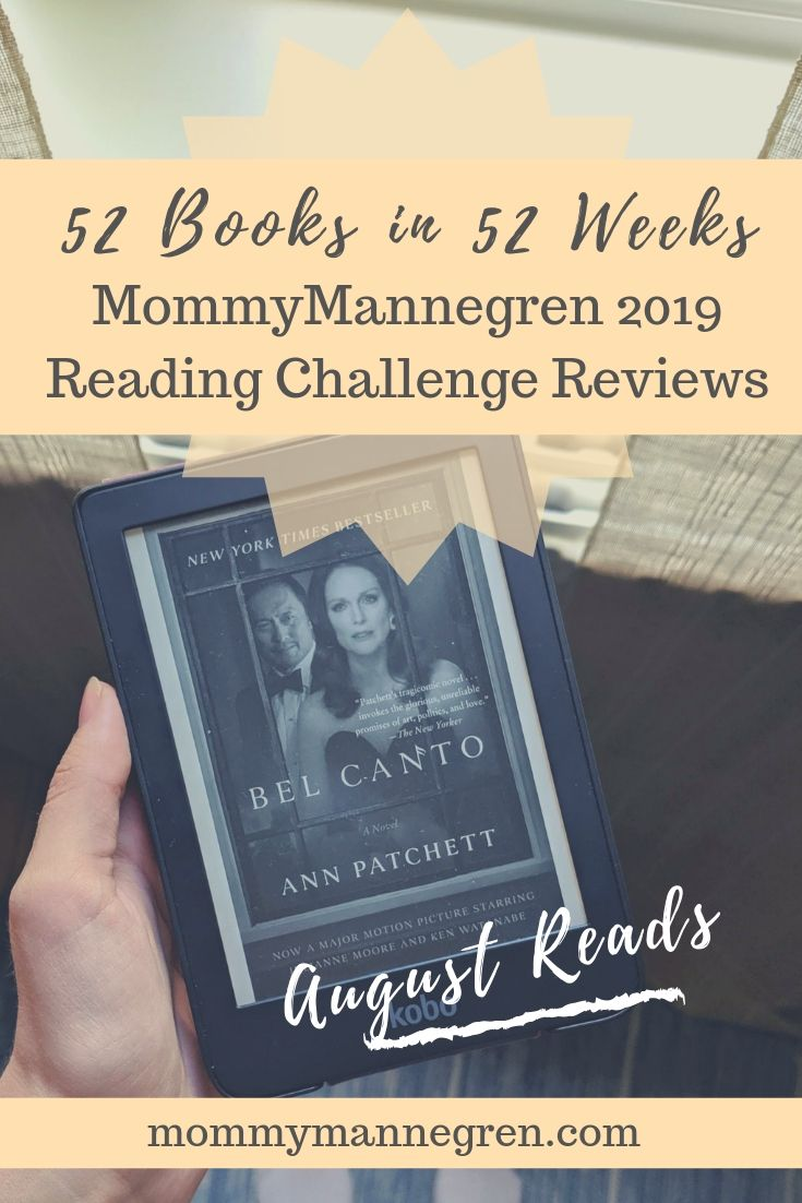 August Reads 2019 Challenge