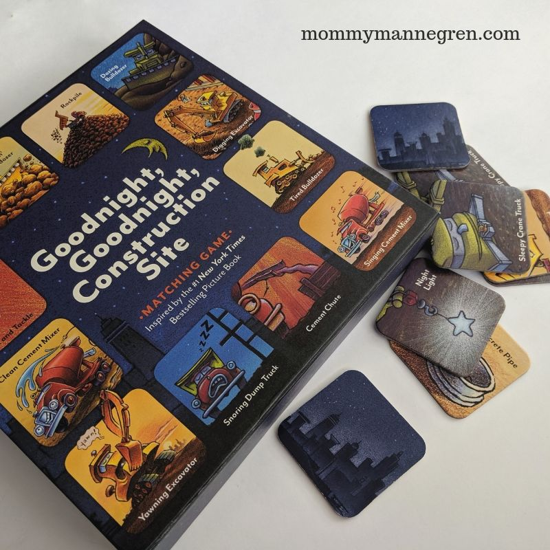 Goodnight, Goodnight Construction Site Card Game