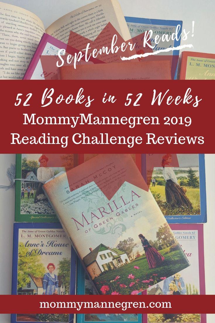 September Reads 2019 Challenge